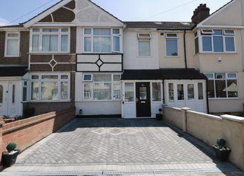 Thumbnail 3 bed terraced house to rent in Ellis Avenue, Rainham, Essex
