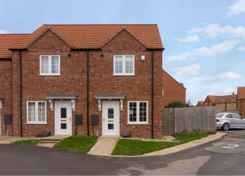 Thumbnail 2 bed end terrace house for sale in Celandine Close, Spalding