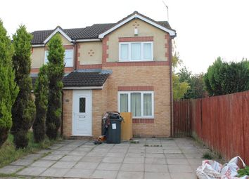 Thumbnail 3 bed end terrace house for sale in Mease Croft, Bordesley, Birmingham