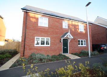 Thumbnail 4 bed detached house for sale in Sentrys Orchard, Exminster, Exeter