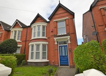 Thumbnail 5 bed semi-detached house to rent in York Avenue, Sefton Park, Liverpool