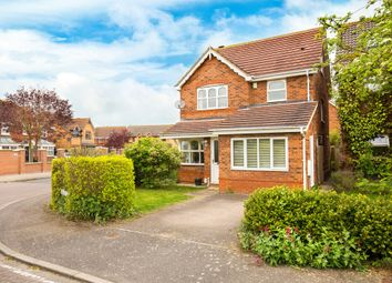 Thumbnail 4 bedroom detached house for sale in Blake Close, Royston