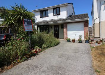 Thumbnail 4 bed detached house for sale in St. James Park, Brackla, Bridgend.
