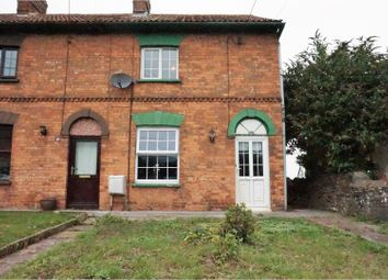 Thumbnail 2 bed end terrace house for sale in Old Road, Bridgwater