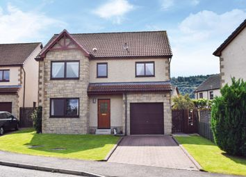 Thumbnail 5 bed detached house for sale in Sutherland Crescent, Abernethy, Perthshire