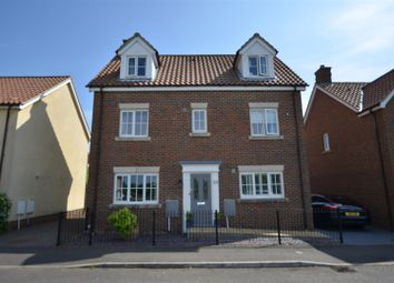 Thumbnail 5 bed detached house for sale in Lavender Road, Wymondham