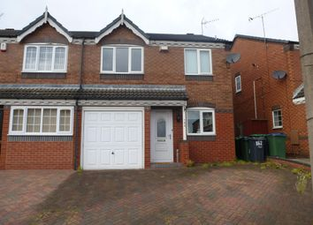 Thumbnail 3 bedroom semi-detached house to rent in Woodruff Way, Walsall