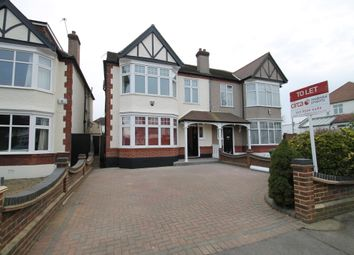 Thumbnail 5 bed semi-detached house to rent in Seagry Road, Wanstead