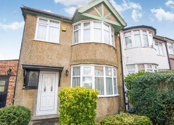 Thumbnail 3 bedroom semi-detached house for sale in Wakemans Hill Avenue, London