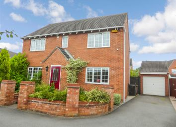 Thumbnail 4 bed detached house for sale in Frank Bodicote Way, Swadlincote