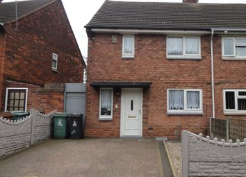 Thumbnail 2 bedroom semi-detached house for sale in Reservoir Close, Walsall, West Midlands