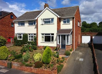 Thumbnail 3 bed semi-detached house for sale in Harringcourt Road, Pinhoe, Exeter, Devon