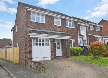 Thumbnail 4 bed semi-detached house to rent in Browning Close, Larkfield, Aylesford