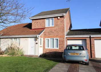 Thumbnail 2 bed semi-detached house for sale in Bondene Way, Hartford Chase, Cramlington