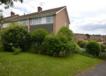 Thumbnail 3 bed end terrace house for sale in Richards Close, Exmouth, Devon