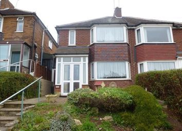 Thumbnail 3 bed semi-detached house to rent in Charnwood Road, Birmingham