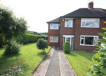 Thumbnail 4 bedroom semi-detached house for sale in Kinnersley Avenue, Kidsgrove, Stoke-On-Trent