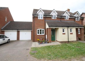 Thumbnail 3 bedroom semi-detached house for sale in Station Drive, Reedham, Norwich