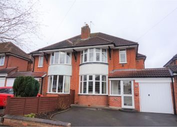 Thumbnail 3 bedroom semi-detached house for sale in Ralph Road, Solihull