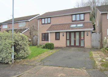 Thumbnail 4 bed detached house for sale in Kestrel Close, Cardiff