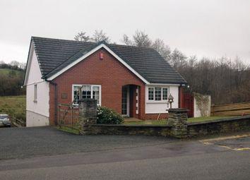 Thumbnail 3 bed detached bungalow for sale in Waungilwen, Llandysul, Carmarthenshire