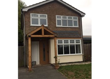 Thumbnail 3 bed detached house for sale in Cherry Drive, Syston, Leicester