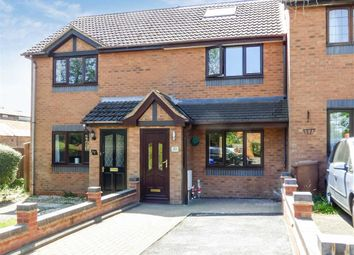 Thumbnail 3 bed terraced house for sale in Cygnet Close, Cannock, Staffordshire