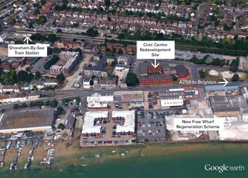 Thumbnail Land for sale in Brighton Road, Shoreham By Sea, West Sussex
