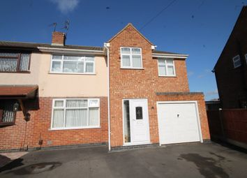 Thumbnail 4 bed semi-detached house for sale in Stafford Close, Bulkington, Bedworth