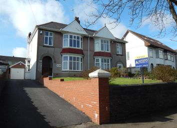 Thumbnail 3 bed semi-detached house for sale in Clasemont Road, Morriston, Swansea