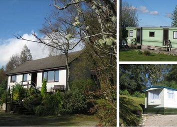 Thumbnail 3 bedroom bungalow for sale in Dalilea Holiday Caravans And Owners Bungalow, Acharacle, Argyll