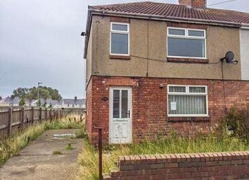 Thumbnail 3 bed semi-detached house for sale in Burnside, Bedlington