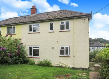 Thumbnail 3 bed semi-detached house for sale in Nicholas Close, Brushford, Dulverton
