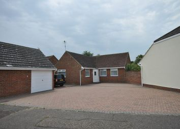 Thumbnail 3 bed detached bungalow for sale in Woodfield Drive, West Mersea, Colchester