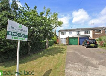 Thumbnail 3 bed end terrace house for sale in Wheelers Green, Middle Street, Nazeing, Waltham Abbey