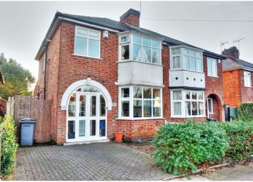 Thumbnail 3 bed semi-detached house for sale in Belvoir Drive, Leicester