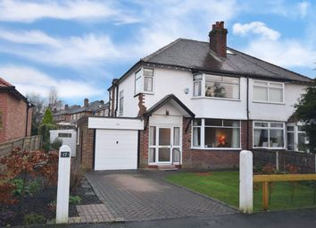 3 bed semi-detached house for sale in Handley Road, Bramhall, Stockport SK7