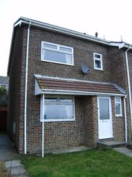 Thumbnail 3 bed semi-detached house to rent in Lodge Way, Weymouth