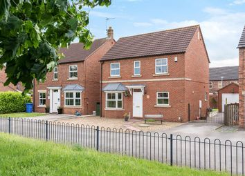 Thumbnail 4 bed detached house for sale in Halifax Close, Full Sutton, York