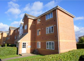 Thumbnail 1 bed flat for sale in Ascot Court, Aldershot