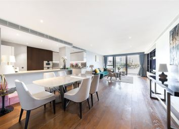 Thumbnail 3 bed flat for sale in Chartwell House, Chelsea Waterfront, Waterfront Drive, London