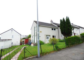 Thumbnail 3 bed end terrace house for sale in Burns Road, Greenock