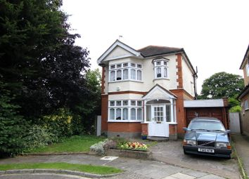 Thumbnail 3 bed detached house for sale in Elm Gardens, Enfield