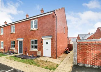 Thumbnail 2 bed end terrace house for sale in Great Meadow, Marston Moretaine