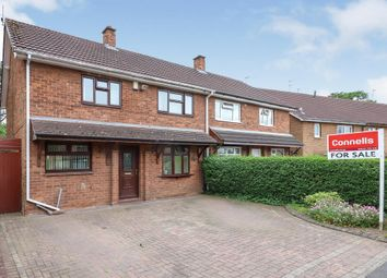 Thumbnail 3 bed semi-detached house for sale in Moatbrook Avenue, Codsall, Wolverhampton