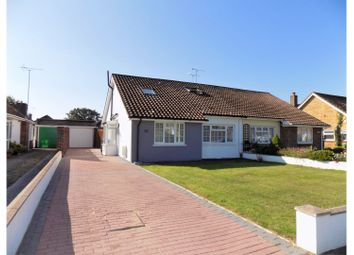 Thumbnail 4 bed semi-detached bungalow for sale in Singleton Crescent, Worthing