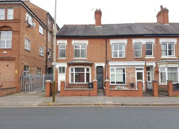 Thumbnail 3 bed terraced house to rent in Fosse Road North, Leicester