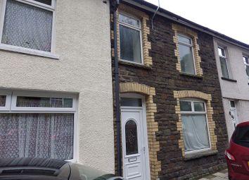 Thumbnail 3 bed terraced house to rent in Tynewydd Terrace, Newbridge, Newport.