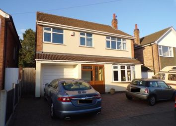 Thumbnail 5 bed detached house for sale in St Helens Close, Leicester