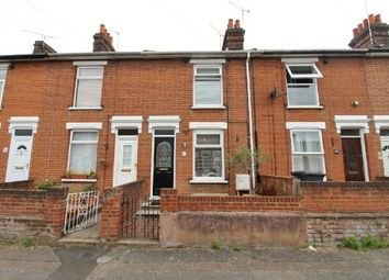 Thumbnail 3 bedroom terraced house to rent in Rosebery Road, Ipswich